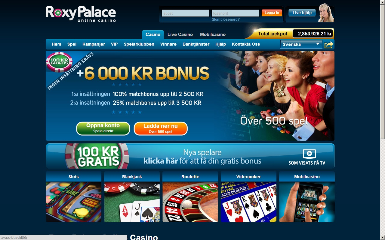gratis casino bonus utan insättning