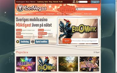 LeoVegas - FГҐ 20 gratis free spins vid registrering!