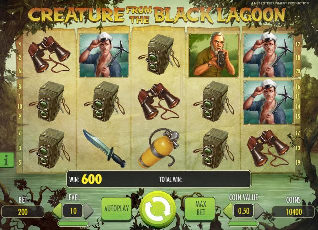 creature from the black lagoon casino