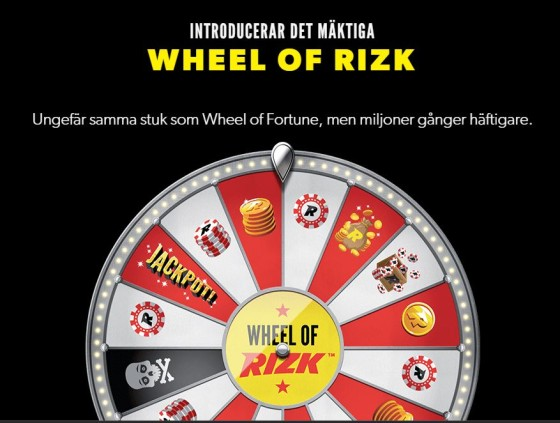 Progressive Jackpot Winner - The Wheel Of RIZK online casino - Rizk.com
