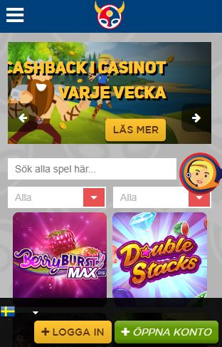 scandibet mobilversion