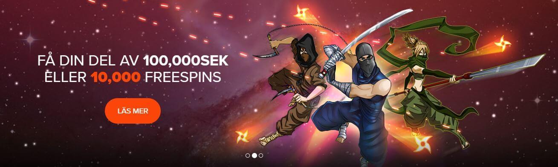 ninjakampen ninja casino