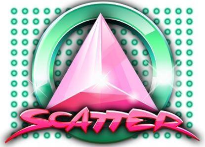 neon scatter logo