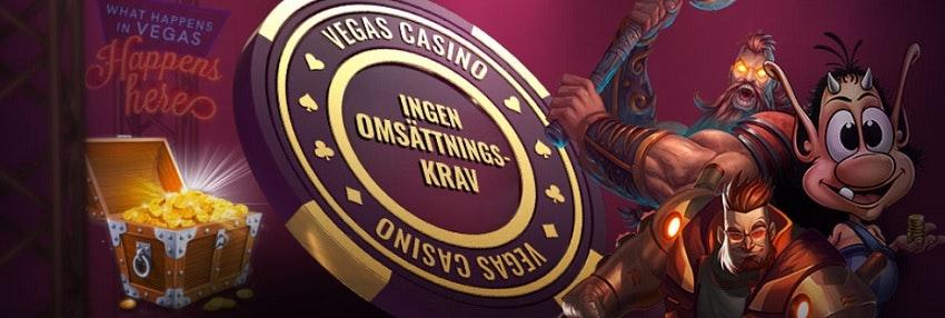 vegas casino banner