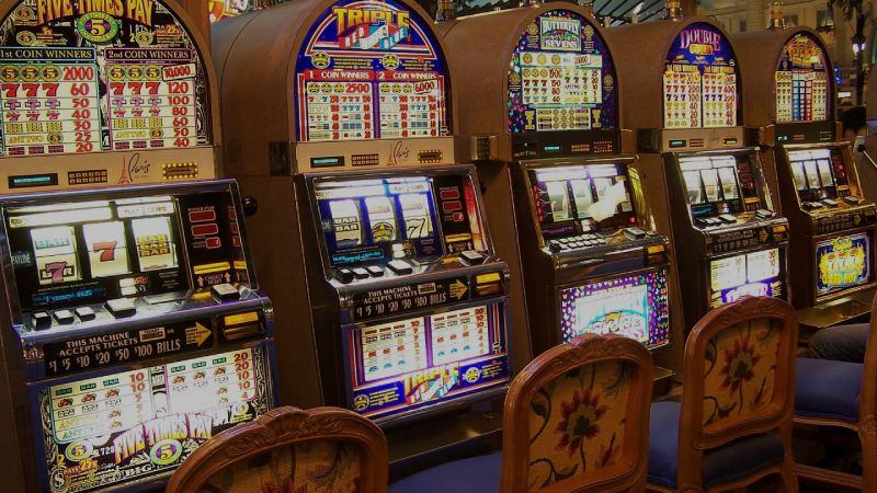 Slots på ett casino